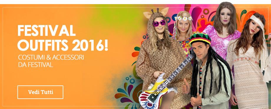 Costumi e accessori per Festivale e Concerti