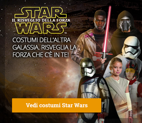 Costumi Star Wars Episodio VII