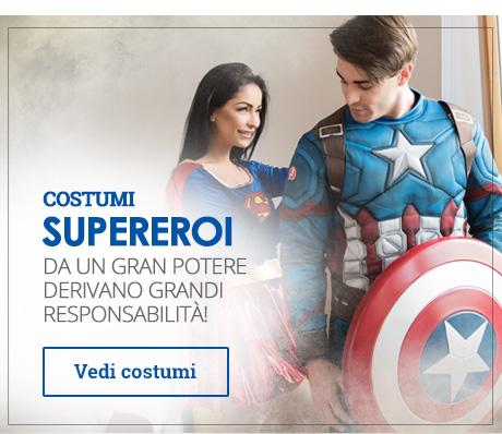 Costumi da Supereroi e Villains