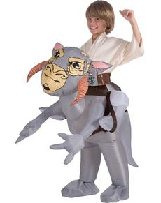 Costume Tauntaun Star Wars gonfiabile da bambini