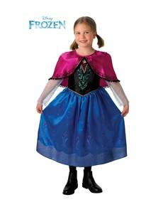 Costume Anna Deluxe Frozen - Il regno di ghiaccio da bambina