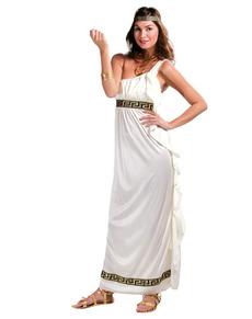 Costume da dea greca dell'Olimpo