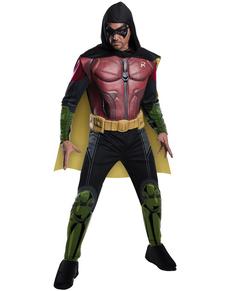 Costume da Robin Batman Arkham Franchise muscoloso per uomo