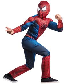 Costume  The Amazing Spiderman 2 deluxe per bambino