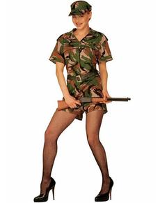 Costume da militare O'Neil per donna