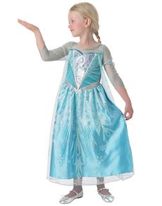 Costume da Elsa Frozen Premium per bambina