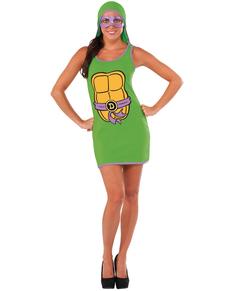 Vestito Donatello Tartarughe Ninja donna