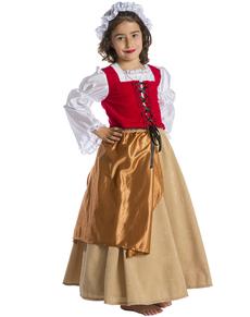 Costume da donzella da bambina