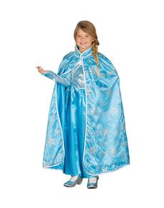 Mantello da principessa di ghiaccio per bambina