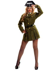 Costume da guardia civile per donna
