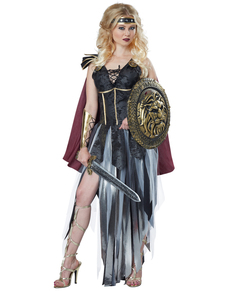 Costume da gladiatora selvaggia per donna