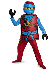 Costume da Nya Lego deluxe per bambina