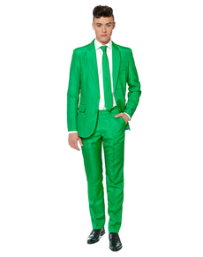 Abito Solid Green Suitmeister