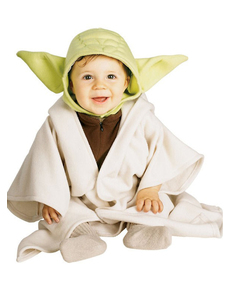 Costume Yoda Star Wars da bebè