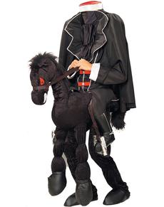Costume da cavaliere senza testa