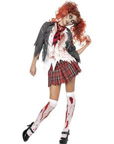 Costume da universitaria zombie